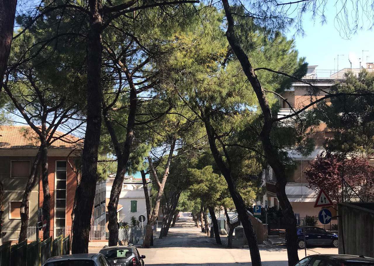 Via Gobetti, Falconara