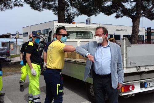 Federfarma Ancona, la donazione per le mamme. «Per le mascherine forse siamo allo sblocco»