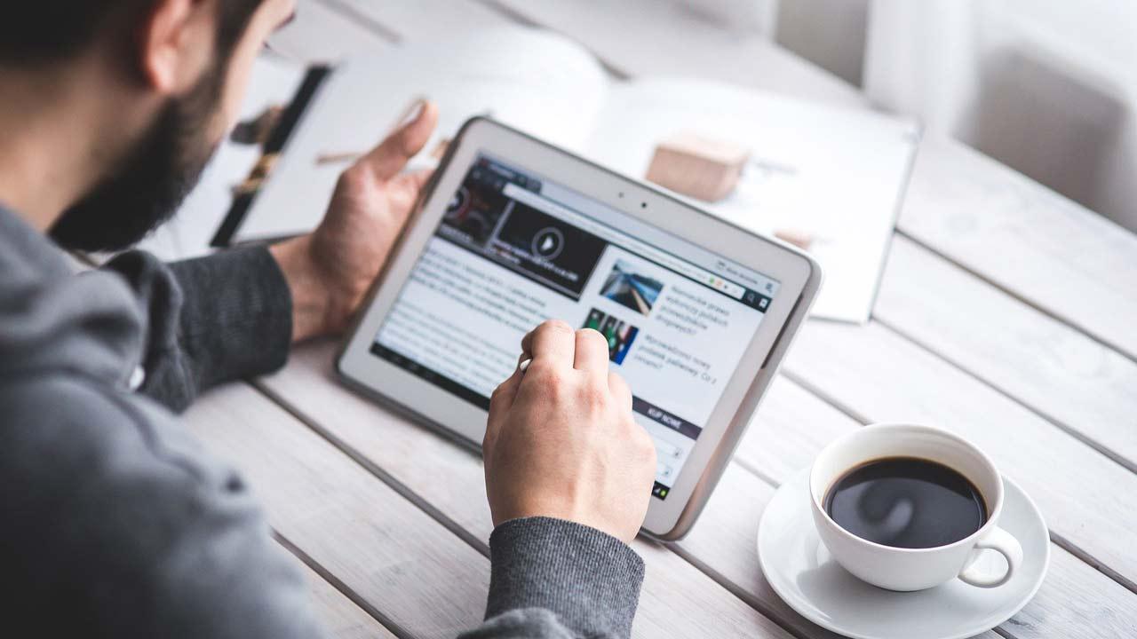 informazione, news, tablet