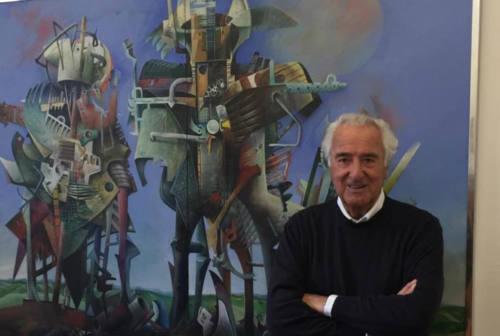 Urbino piange l'artista Mario  Logli, le sue isole volanti un'icona della città ducale