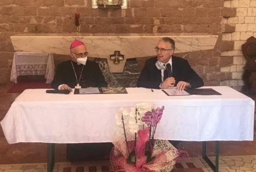 Camerino, firmato l'accordo per il nuovo museo diocesano: «Guardiamo al futuro senza dimenticare il passato»