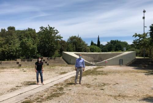 Pesaro, ripartono le palestre: una tensostruttura per la danza al parco Miralfiore