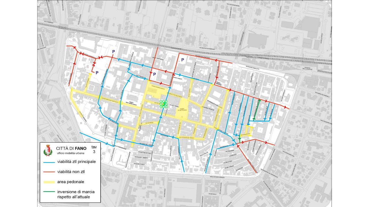 modifiche alla viabilit del centro storico