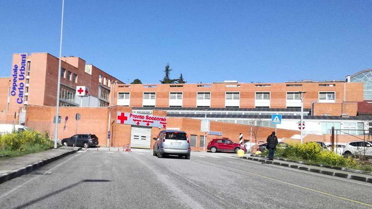 L'ospedale Carlo Urbani di Jesi