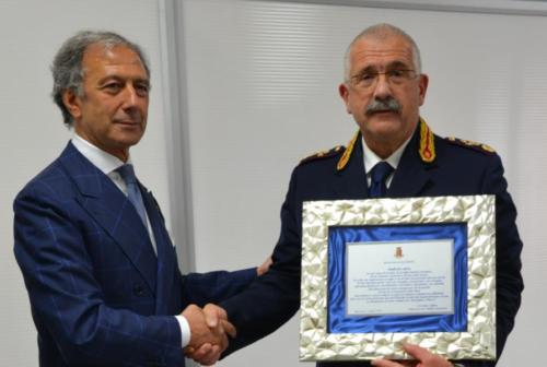 Polizia di Macerara, quiescenza per il primo dirigente Andrea Innocenzi