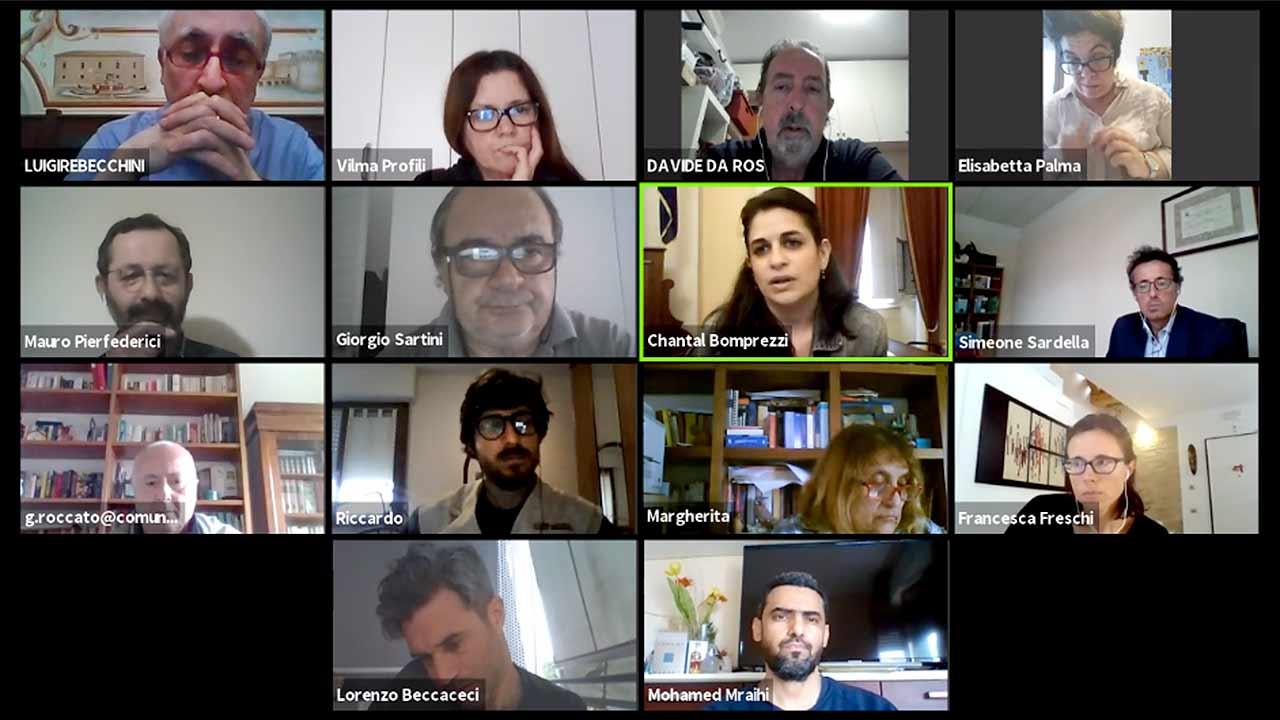 La prima commissione consiliare di Senigallia, svoltasi in modalità telematica