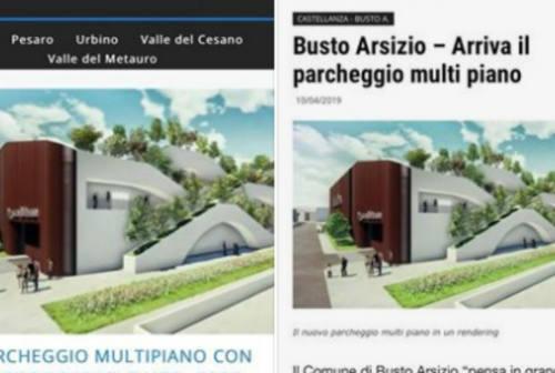 Fano, i 5 Stelle ribattono alla Lega: «Il rendering del parcheggio multipiano uguale a una struttura di Busto Arsizio»