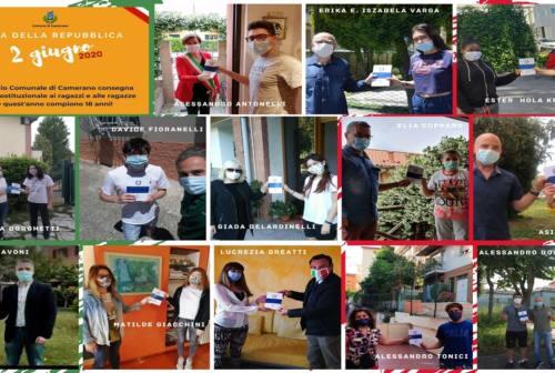 Festa della Repubblica: a Camerano la consegna della Costituzione ai neomaggiorenni