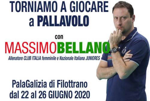 Volley, il ritorno di Massimo Bellano a Filottrano