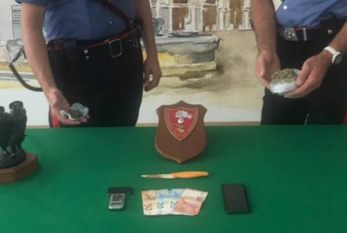 Fano, arrestato 27enne: aveva con sé circa 75 grammi di stupefacenti