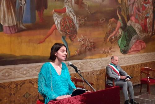 """Virginia Barchiesi, la 18enne alfiere della Repubblica tra le 100 donne più influenti secondo """"F"""""""