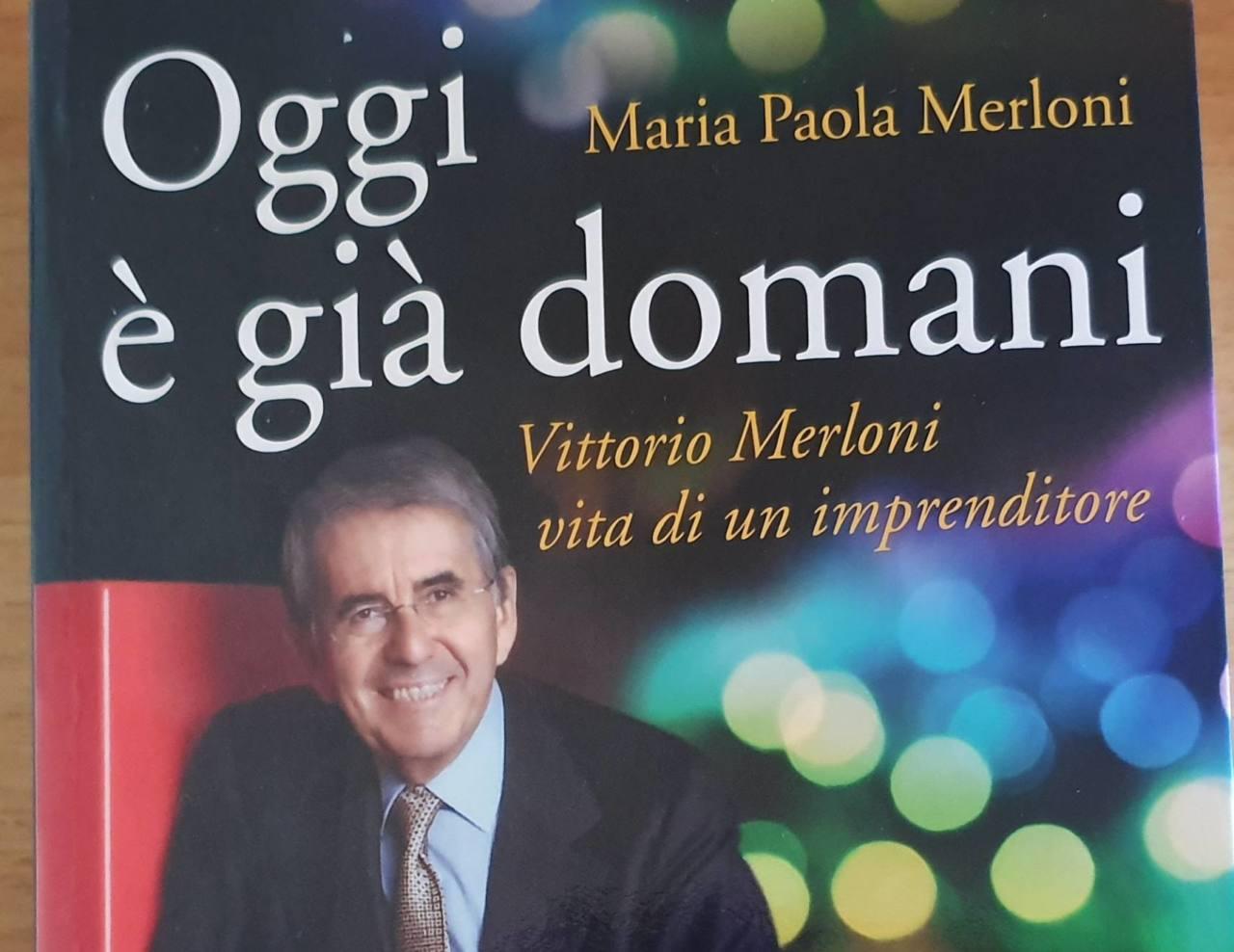 La copertina del libro scritto da Maria Paola Merloni