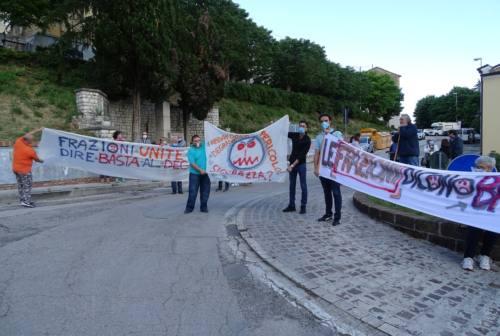 Frazioni dimenticate: manifestazione a Montesicuro per dire basta al degrado