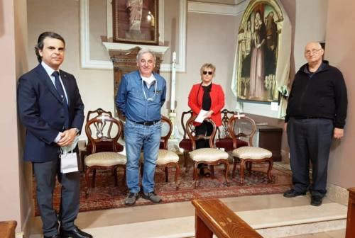 Il Lions Club di Fabriano finanzia l'impianto di illuminazione ad Albacina