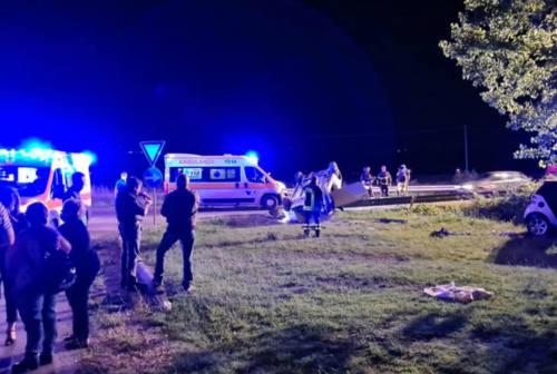 Fano: schianti tra auto e motocicli, feriti gravi e pirati della strada. Incidenti a ripetizione negli ultimi giorni