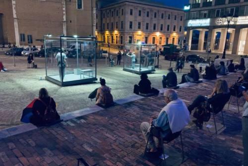 """Ancona, Teatro delle Muse: debutto all'aperto per """"L'attore nella casa di cristallo"""""""