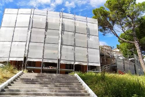 Ripartenza dei cantieri, a Loreto fervono i lavori alla Scala Santa