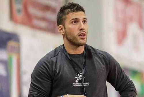 Pallamano Camerano, lo staff tecnico abbraccia coach Matteo Bellotti