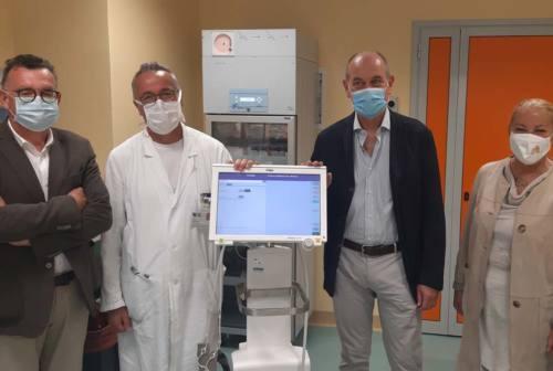 Jesi, la comunità ha donato un tomografo polmonare all'ospedale