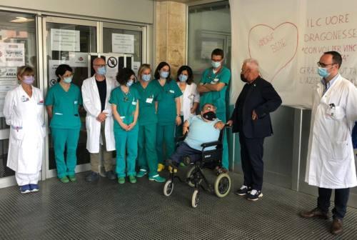 Ancona, gran successo per l'asta delle maglie di Paolino Giampaoli per l'ospedale di Torrette