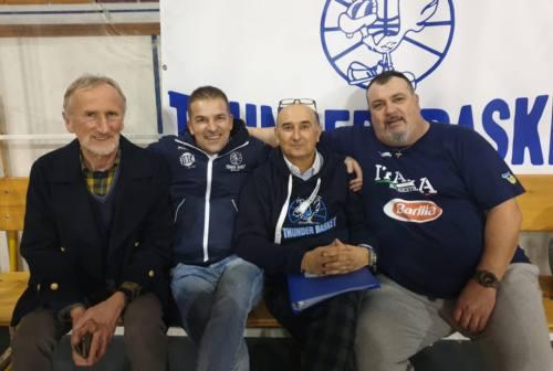 Basket, la Thunder Matelica Fabriano riparte da coach Rapanotti