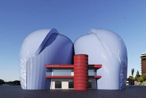 Cantiere Rossini, capannoni pronti a gennaio. Ricci: «Un ecomostro? Sembra un museo»