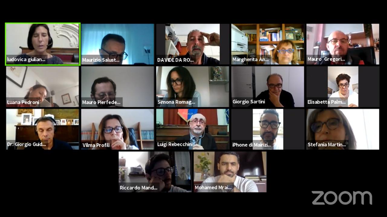 La I e III commissione di Senigallia in seduta virtuale per discutere dei diritti degli animali