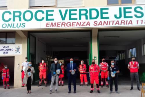 Jesi, il saluto di Mastrovincenzo alla Croce Verde: «Volontariato fondamentale per la coesione sociale»