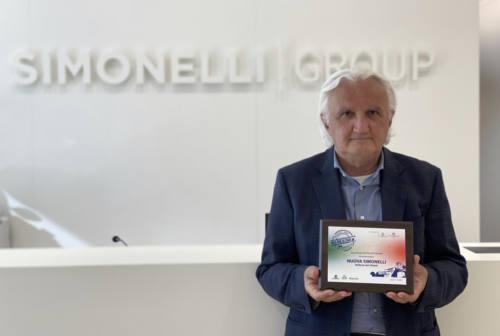 Belforte del Chienti, la Nuova Simonelli premiata da Legambiente. Ottavi: «Il segreto? Territorio e risorse umane»