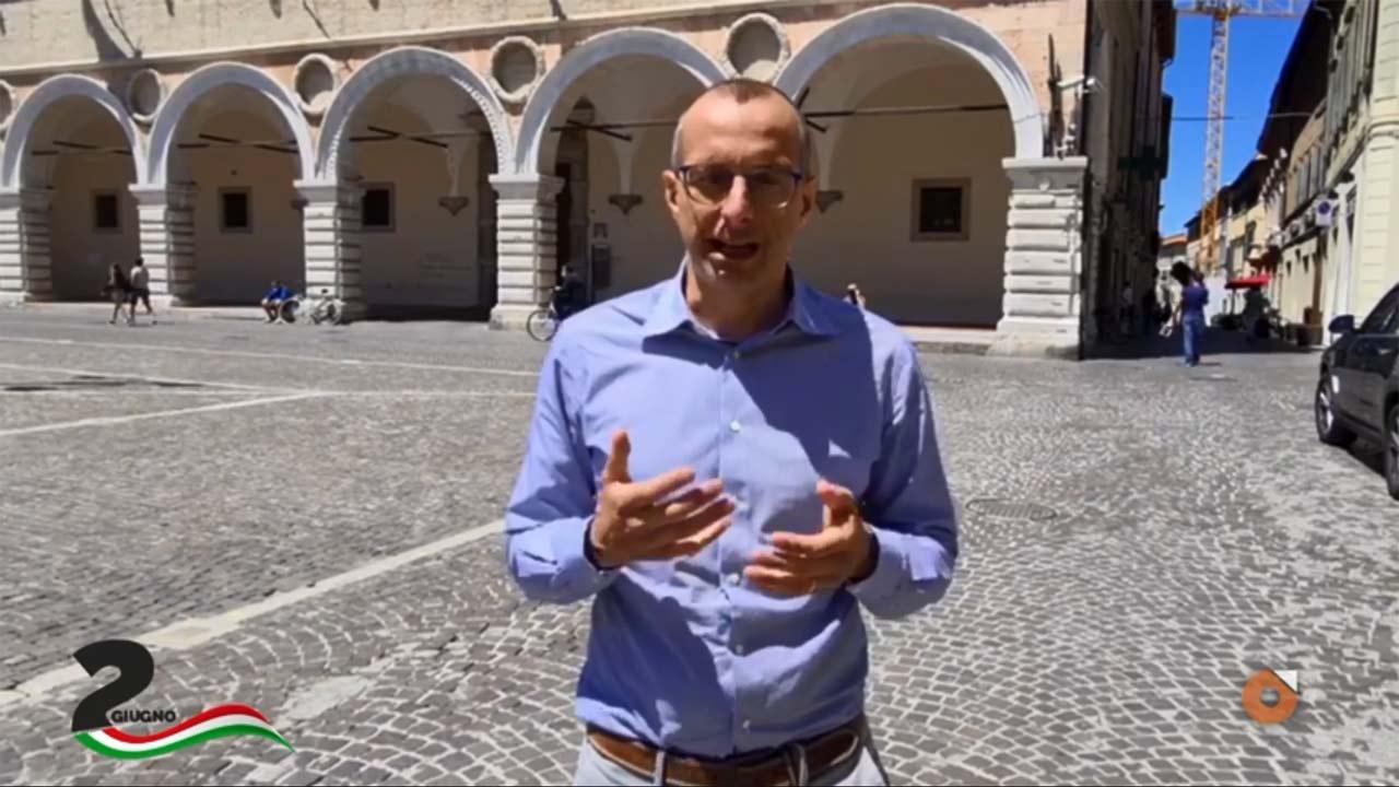 Il sindaco di Pesaro Matteo Ricci