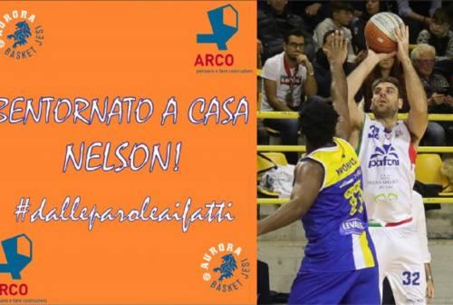 L'Aurora Basket riporta a casa Nelson Rizzitiello