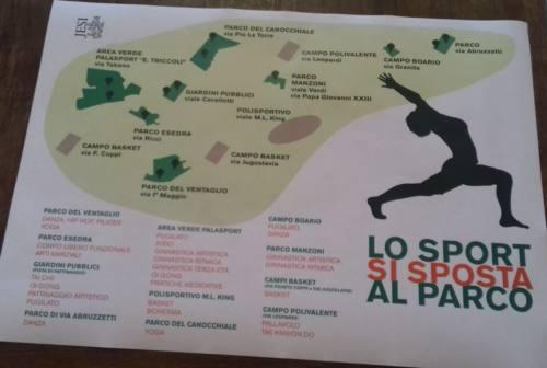 Sport nei parchi, si parte. Coltorti: «Opportunità per le società e per Jesi»