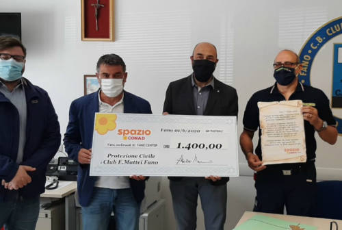 Fano, un sostegno per la Protezione Civile: oltre 25.000 consegne in 3 mesi