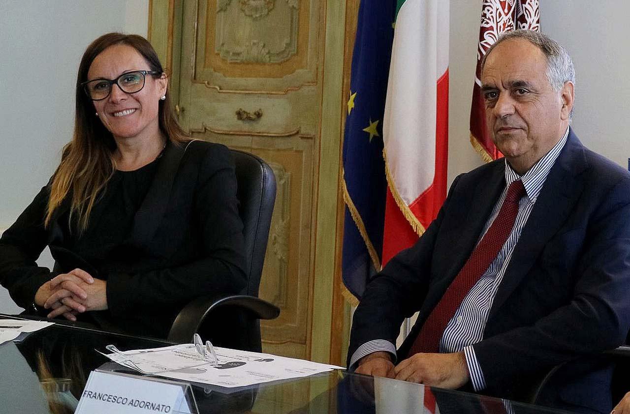 Arianna Fermani e Francesco Adornato