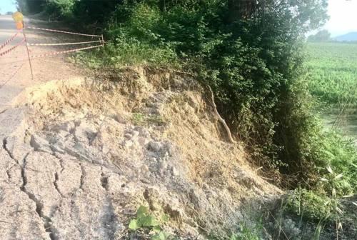 Serra de' Conti, sistemata la frana di via Farneto