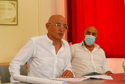 Senigallia, Fabrizio Volpini incassa il sostegno di Roberto Mancini e del Pd di Ostra