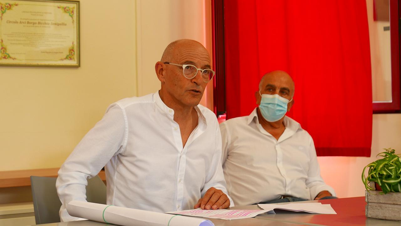 Fabrizio Volpini, candidato del centrosinistra alle elezioni comunali 2020 di Senigallia