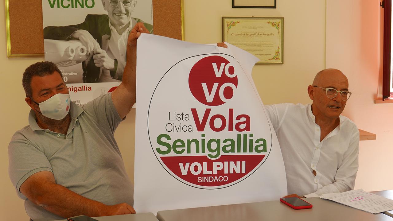Il logo della lista elettorale a sostegno di Fabrizio Volpini