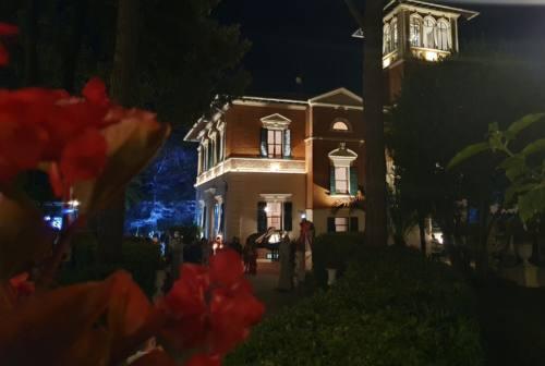 Filottrano, Villa Gentiloni riapre alle soirée. Paolorossi: «Dobbiamo riprenderci in mano vita ed economia» – VIDEO