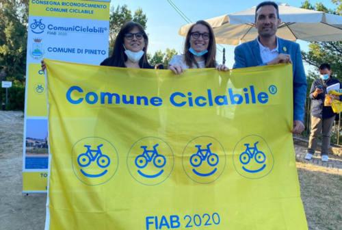 Fano sempre più a misura di ciclista: arriva anche la bandiera gialla