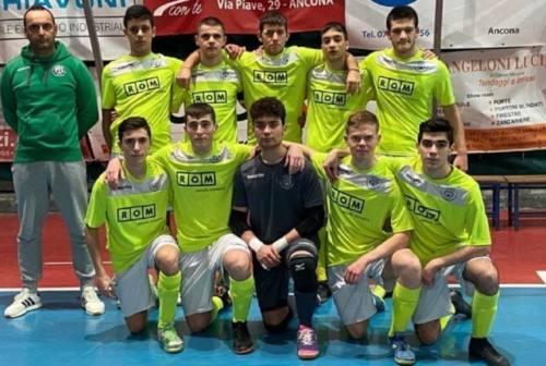 Futsal, l'U19 nazionale del Cus Ancona a mister Alessio Santilli