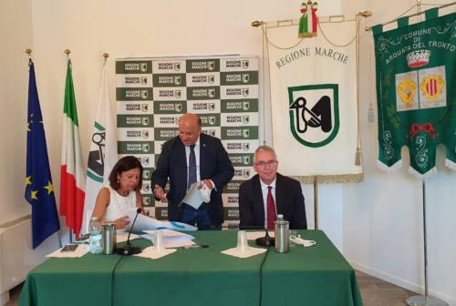 Il ministro De Micheli ad Arquata del Tronto. Sabatini: «Servono infrastrutture»