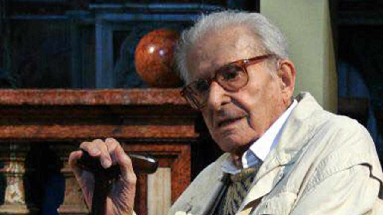 Ferruccio Ferroni a Fano nel 2007 fotografato da Paolo Talevi