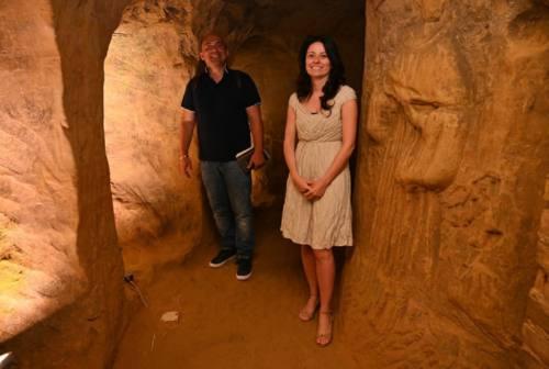 """Osimo, la città riapre le grotte e si prepara per la """"Vertical night"""""""
