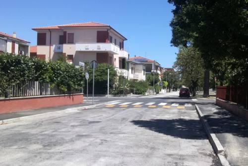 Senigallia, altro incrocio messo in sicurezza alla Cesanella