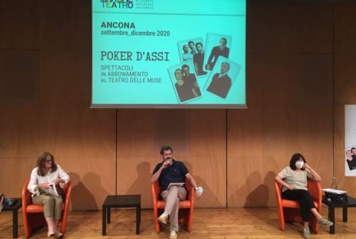 Dopo il lockdown si alza il sipario delle Muse: Marche Teatro presenta Poker d'Assi