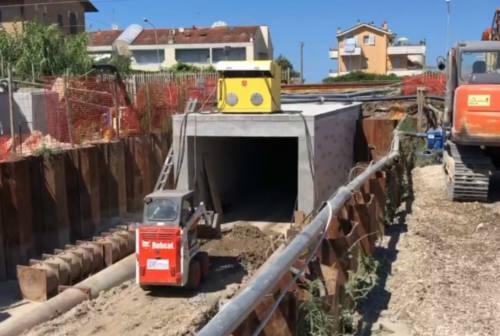 Fano, la città cambia volto: proseguono i lavori ai sottopassaggi pedonali