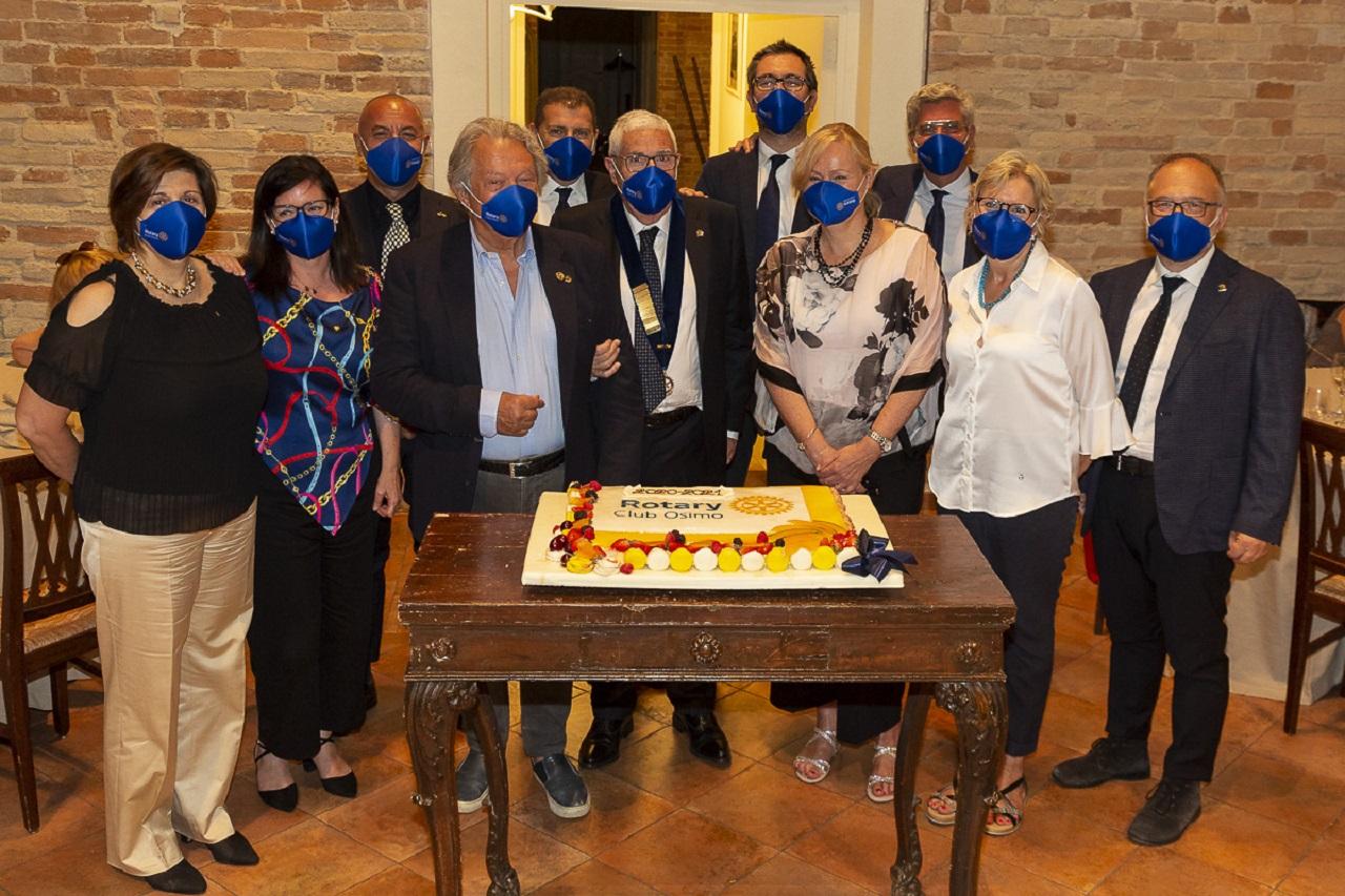 Il gruppo Rotary con Romagnoli