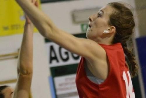 Basket Girls Ancona, la giovane Palmieri vestirà ancora il biancorosso