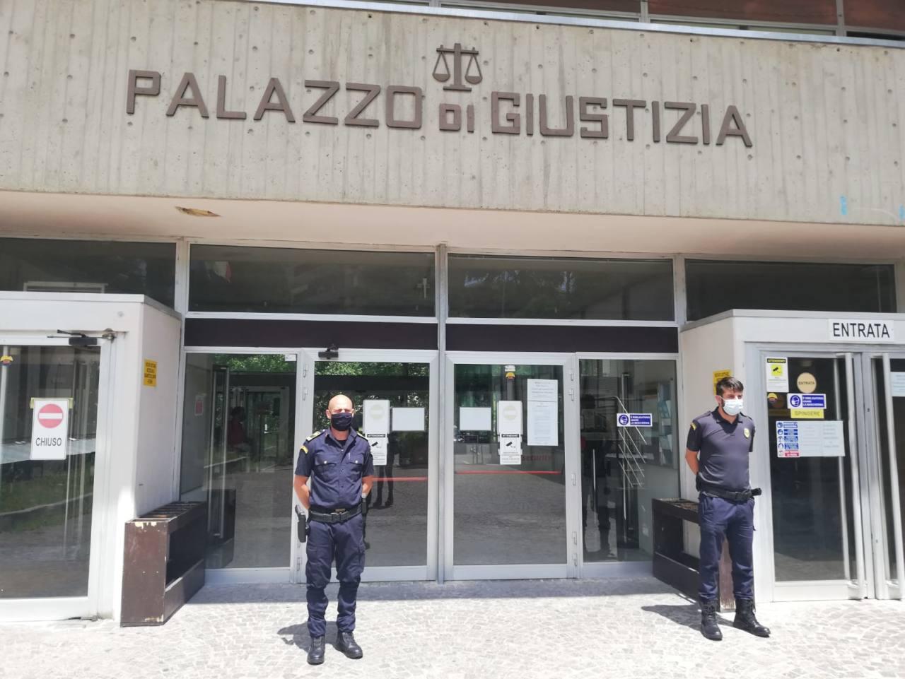 tribunale, palazzo di giustizia di Macerata